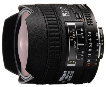 Objektiv Nikon NIKKOR 16MM F2.8 AF D A černý