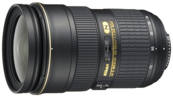Objektiv Nikon NIKKOR 24-70MM F2.8G ED AF-S černý