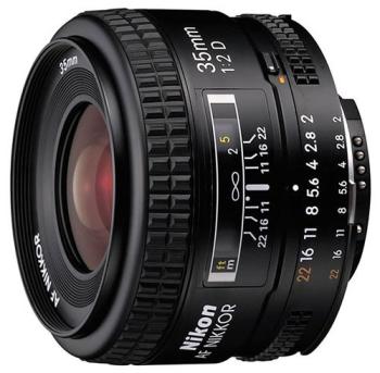 Objektiv Nikon NIKKOR 35MM F2 AF D A černý