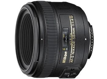 Objektiv Nikon NIKKOR 50mm f/1.4 G AF-S černý