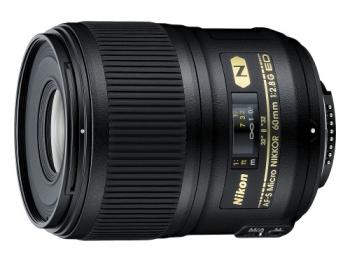 Objektiv Nikon NIKKOR 60 mm f/2.8G ED AF-S MICRO černý