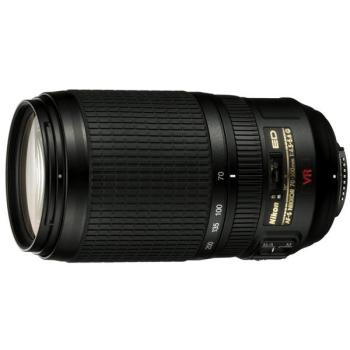 Objektiv Nikon NIKKOR 70-300MM F4.5-5.6G AF-S VR IF-ED černý