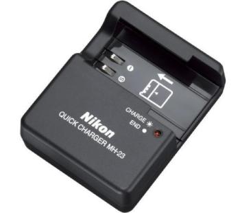 Nabíječka Nikon MH-23 EN-EL9/EN-EL9a černá