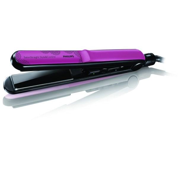 Žehlička na vlasy Philips SalonStraight HP 4686 22 černá růžová ... c365790a119