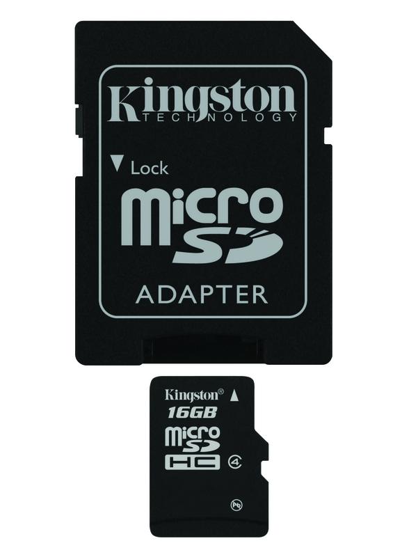Pametova Karta Kingston Microsdhc 16gb Class 4 Adapter Euronics