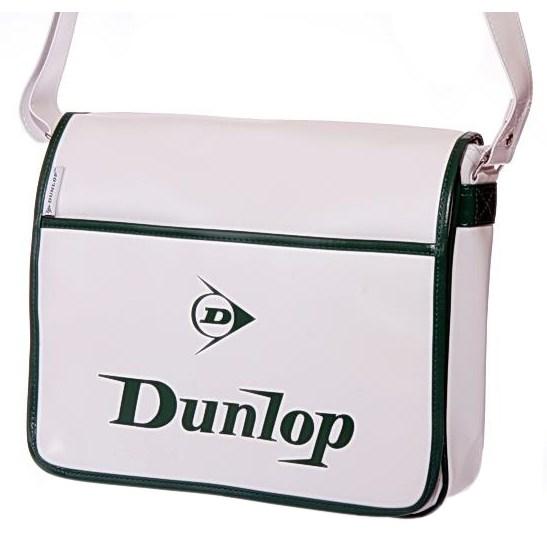 Taška přes rameno Dunlop RETRO CL-7141 bílá  5004b92d787