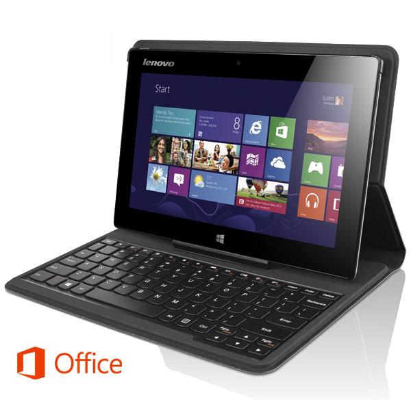 Dotykový tablet Lenovo IdeaPad Miix + pouzdro s klávesnicí černý (10 ... 44b723c0f7c