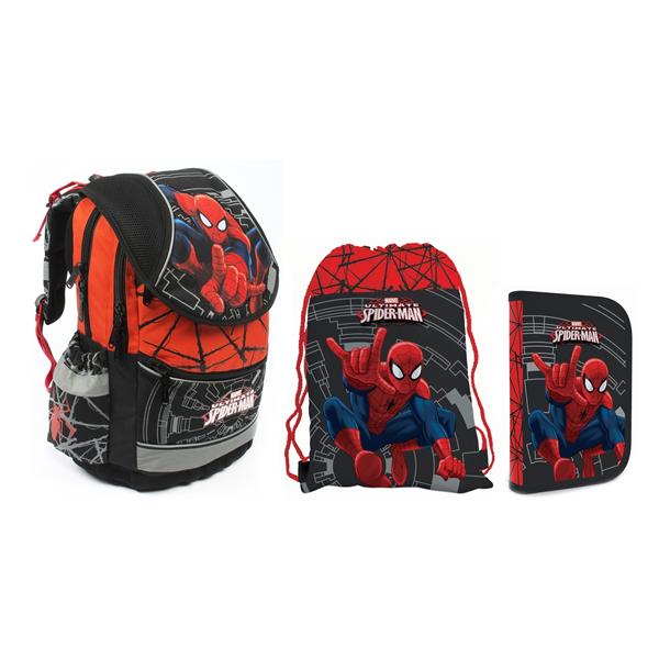 Školní set P + P Karton Spiderman - batoh 36f9a4eb81