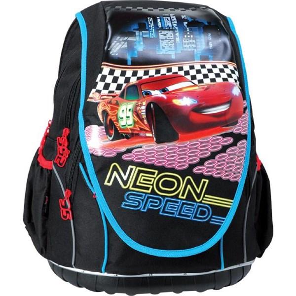 Batoh školní Sun Ce anatomický ABB Disney Cars neon speed černé červené c480f556f7