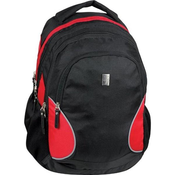 98f83d23888 Batoh školní Sun Ce studentský SCI-FI černé červené