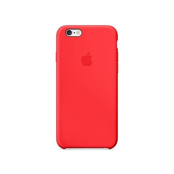 e95d29e0f9 Kryt na mobil Apple iPhone 6 Silicone Case červený