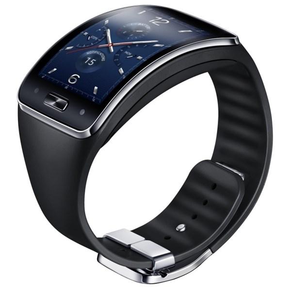 Chytré hodinky Samsung Gear S černé  b12c611560