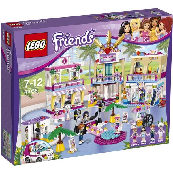 fc98c9077 Stavebnice LEGO® FRIENDS® 41058 Obchodní zóna Heartlake | EURONICS