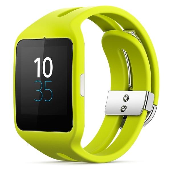 Chytré hodinky Sony SmartWatch 3 SWR50 - limetková  7690ce0b8d4