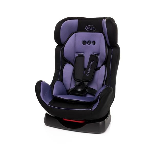 Autosedacka 4baby Freeway 2015 0 25 Kg Purple Cerna Fialova Euronics