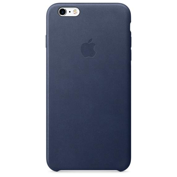 Kryt na mobil Apple Leather Case pro iPhone 6 Plus   6s Plus - půlnočně  modrý 5f89e677f19