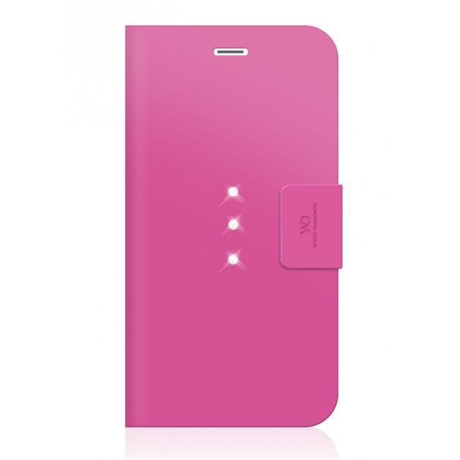Pouzdro na mobil flipové White Diamonds Crystal Wallet pro iPhone 6 Plus    6s Plus růžové 4e118e55e3d