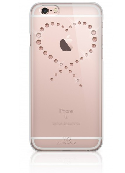 c2c2bcd7ff9 Kryt na mobil White Diamonds Eternity Rose Gold pro iPhone 6/6S průhledný