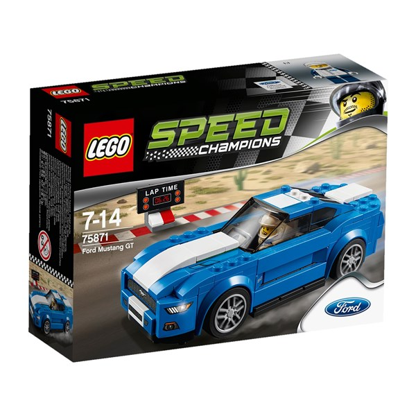 Návod pro Stavebnice LEGO® SPEED CHAMPIONS® 75871 Ford Mustang GT ... e021baec4a
