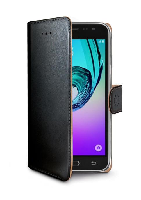 Pouzdro na mobil flipové Celly Wally pro Samsung Galaxy J3 (2016) černé ee3dc64f5d7