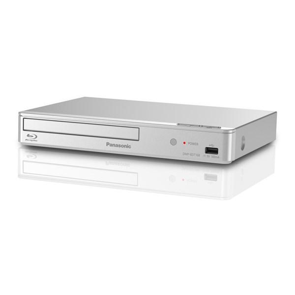 fe99da686 3D Blu-Ray přehrávač Panasonic DMP-BDT168EG stříbrný | EURONICS