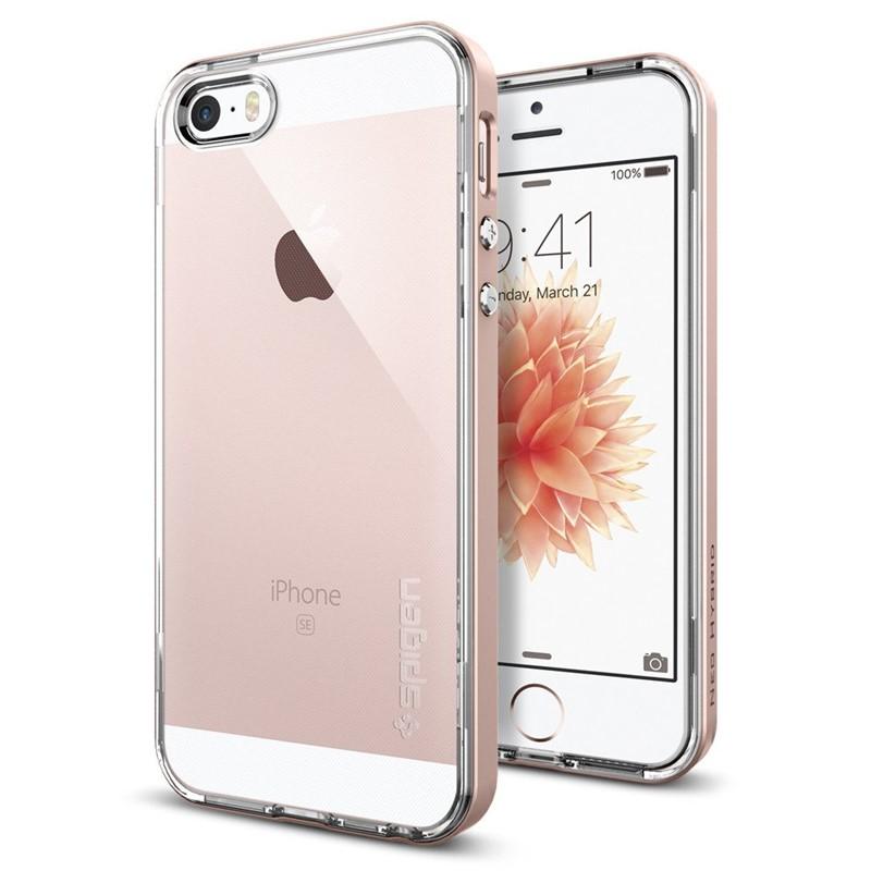Kryt na mobil Spigen Neo Hybrid Apple iPhone 5 5s SE - rose gold ... 9aa253757d1