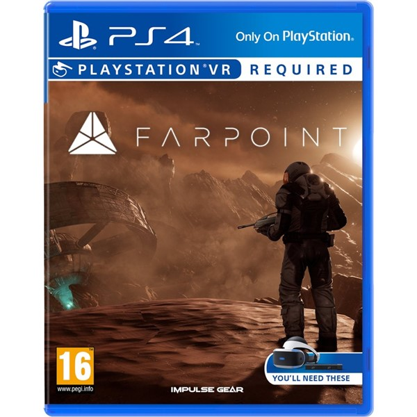 6424ed269 Hra Sony PlayStation VR Farpoint (PS4) | EURONICS