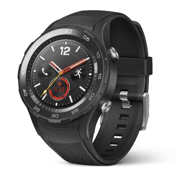 c38659022 Chytré hodinky Huawei Watch 2 SIM Sport - Carbon Black | EURONICS