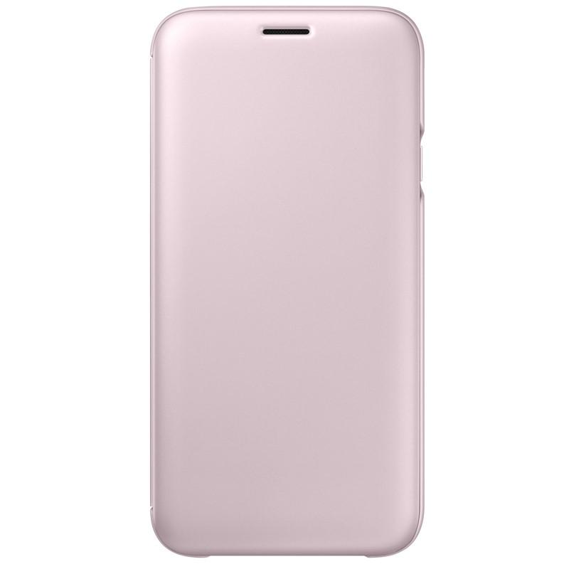 Pouzdro na mobil flipové Samsung Wallet Cover pro J5 2017 růžové ... 9812d3b9621