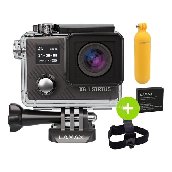 Outdoorová kamera LAMAX X8.1 Sirius + dárek ceee1feaf8
