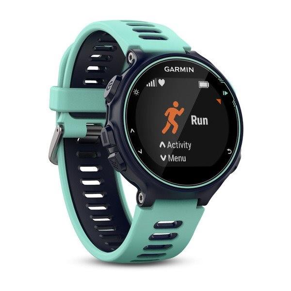 Hodiny Garmin Forerunner 735XT modré. Fotografie. Chytré multisportovní  hodinky ... ee012605be