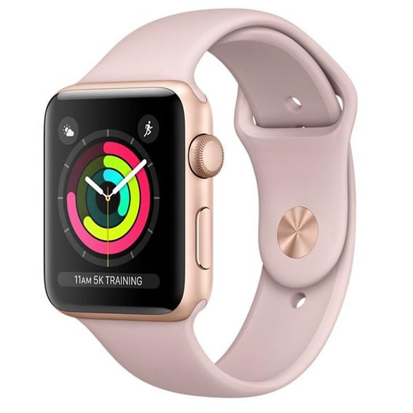 29faf387bfd Chytré hodinky Apple Watch Series 3 Watch Series 3 GPS 38mm pouzdro ze  zlatého hliníku -