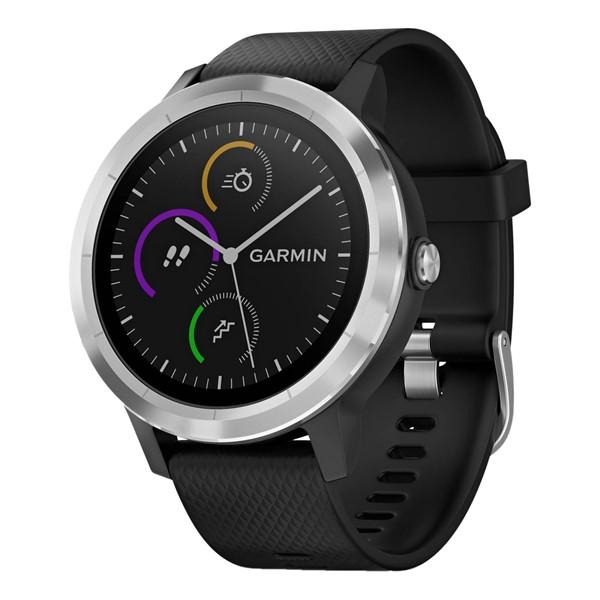 Chytré hodinky Garmin vívoActive3 Optic černé stříbrné  5f03b4910a