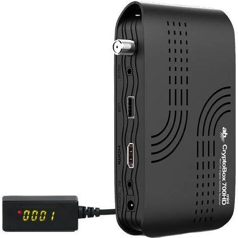 52052f01b Satelitní přijímač AB Cryptobox AB700HD mini černý | EURONICS