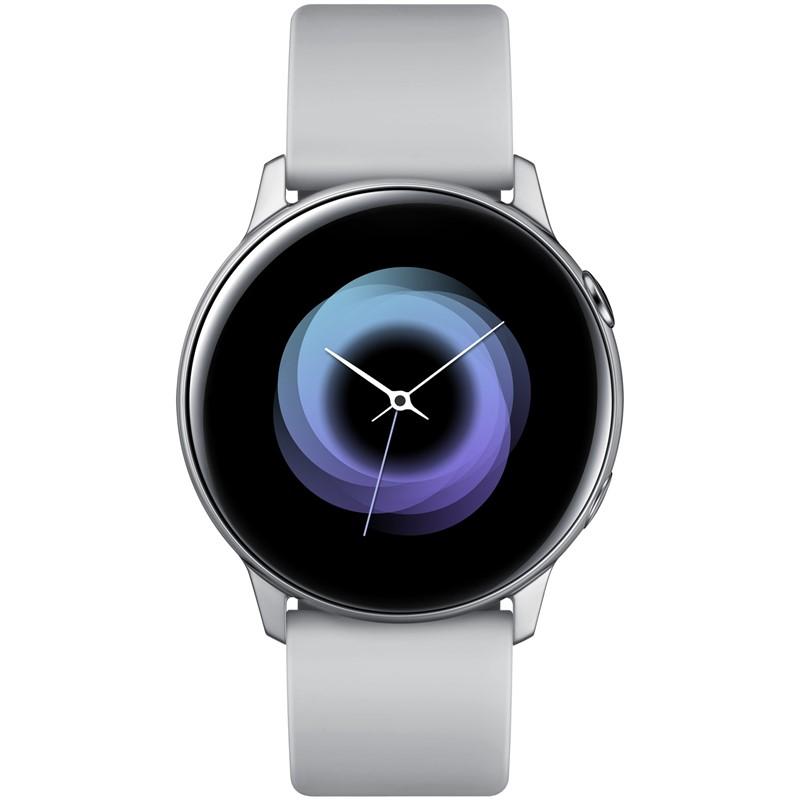 f572922db Chytré hodinky Samsung Galaxy Watch Active stříbrná   EURONICS