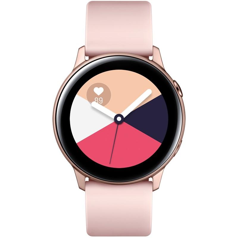 cfc6f410ef Chytré hodinky Samsung Galaxy Watch Active růžová zlatá