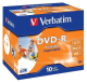Verbatim DVD-R 4.7GB, 16x, printable, jewel box, 10ks