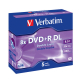 Verbatim DVD+R DualLayer, 8,5GB, 8x, 5ks