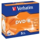 Verbatim DVD-R 4,7GB, 16x, jewel box, 5ks