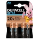 Duracell Turbo AA, LR06, blistr 4ks