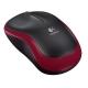 Logitech Wireless Mouse M185 červená