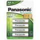 Panasonic AA, HR6, 1900mAh, blistr ks