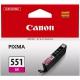 Canon CLI-551 M, 298 stran - originální červená