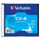 Verbatim CD-R DL 700MB/80min, 52x, slim, 1ks