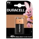 Duracell Basic 9V, LF22, blistr 1ks