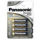 Panasonic AA, LR6, Everyday, blistr 4ks
