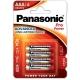 Panasonic Pro Power AAA, LR03, blistr 4ks