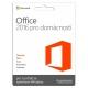Microsoft Office 2016 CZ pro domácnosti a studenty pro 1 PC