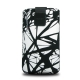 FIXED Velvet White Cracks, XXL černé/bílé