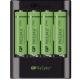 GP U421 USB pro AA, AAA + 4x AA ReCyko+ (2700mAh)